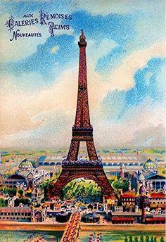 Paris France French Eiffel Tower Vintage European Travel ... https://www.amazon.com/dp/B01JZWVNB8/ref=cm_sw_r_pi_dp_x_9SSEzbVYHRG2J