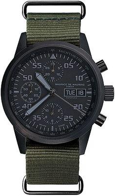 Maurice de Mauriac Chronograph Modern - Size: 42mm - Movement: ETA 7750 - ref: CH_MO_019_06_L