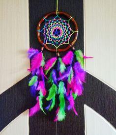 Aura's Star Rainbow webbed Dreamcatcher Wallhanging  #auradreamcatchers #auracreationsdreamcatcher #dreamcatchersindia  #dreamcatchersbangalore #dreamcatcher #hippie #boho #crafts #homedecor #kidsroomdecor