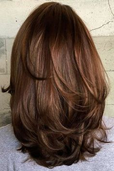 70 Brightest Medium Layered Haircuts to Light You Up Mid-Length Hair With Subtle Layers Layered Haircuts For Medium Hair, Medium Length Hair Cuts With Layers, Haircut For Thick Hair, Haircuts For Long Hair, Long Layered Hair, Medium Hair Cuts, Long Hair Cuts, Cool Hairstyles, Haircut Short