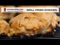 Kamado Joe Grill Fried Chicken - Dif. style of batter/ flour in the egg wash?  Need to try!