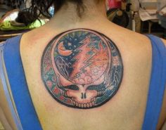 awesome grateful dead tattoo
