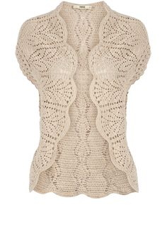 .pretty crochet/lace cardigan