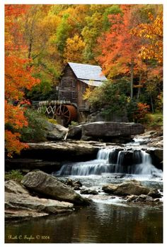 West Virginia - Babcock State Park - Glade Creek Grist Mill,Babcock State Park.