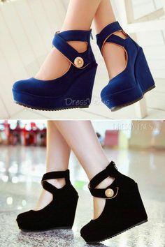 Women Wedge Heels Shoes // OMG AMAZING ! So elegant and so,so beautiful !