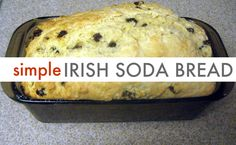 St. Patrick's Day Food - Irish Soda Bread