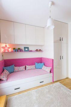 Little girls room transformation - contemporary - Kids - Goldfish-Interiors Small Bedroom Designs, Small Room Design, Home Room Design, Kids Room Design, Small Room Bedroom, Home Bedroom, Room Decor Bedroom, Girls Bedroom, Bedrooms