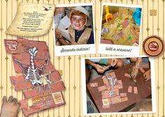 Scavare la sabbia per trovare le ossa e ricostruire il fossile