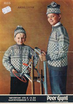 Bøvertun 815 S Norwegian Knitting, Baby Barn, Knit Jacket, Spiderman, Knitting Patterns, Pullover, Children, Crochet, Sweaters