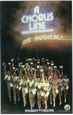 A Chorus Line 11x17 Broadway Show Poster (1975)