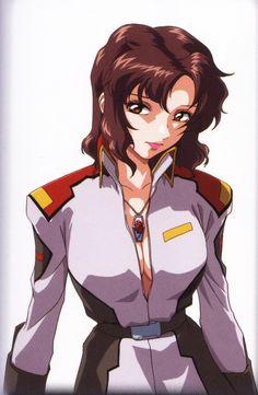 Gundam Wing, Gundam Art, Manga Characters, Female Characters, Future People, Girl With Pink Hair, Zeta Gundam, Gundam Wallpapers, Gundam Mobile Suit