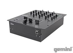 Gemini PS Mixer Series - Starting at 75€ - The Gemini PS series gives DJs the control and reliability they demand in a roadworthy, cost-effective mixer thanks to its solid construction and professional features. Available on Recordcase.de: http://www.recordcase.de/cgi-bin/shop/lshop.cgi?pid=Google-Ehlen=suche=gemini=en