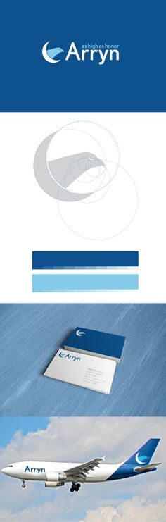 Useful for the upcoming business card project. Arryn Airlines