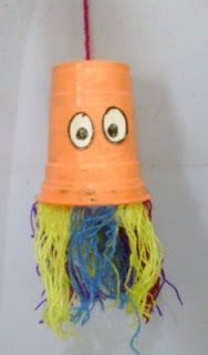 kids art and craft lover: Colourful jellyfish