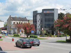 Bank w centrum