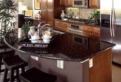 dark granite countertops ile ilgili görsel sonucu