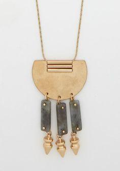 Santa Fe Charm Necklace, @ModCloth