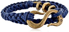 "Giles & Brother Braided ""S"" Hook Wrap Navy Bracelet, 22"" Giles & Brother http://www.amazon.com/dp/B00IPFC09G/ref=cm_sw_r_pi_dp_WQfjub0CVX858"