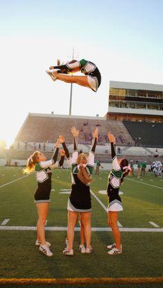 High School Cheer Things - Allie P - High School Cheerleading, College Cheer, Cheerleading Pictures, Easy Cheerleading Stunts, Cheerleading Uniforms, Cool Cheer Stunts, Cheer Jumps, Cheer Team Pictures, Cheers Photo