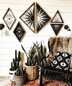 "4,148 Likes, 62 Comments - ⌯ Kacy Brynn // Wood Signs ⌯ (@northwoodsupply) on Instagram: ""Plants, wood, texture, fur, baskets, pillows, rugs.... these are a few of my favourite things ✨ •…"""