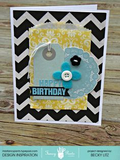 Happy Birthday (Gift card holder) - Scrapbook.com