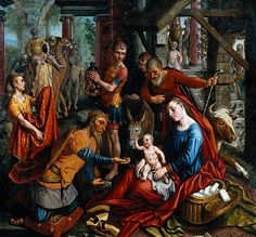 Pieter Aertsen : The Adoration of the Magi 1560