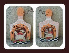 Tablas de ceramica pintadas y decoradas por Judith de Guerra