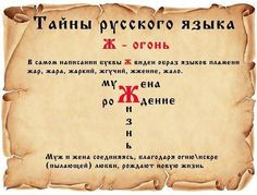 (3) Тайны русского слова.