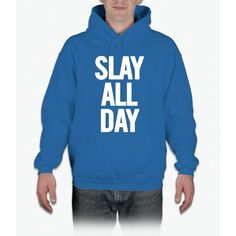 Slay All Day (White) Hoodie
