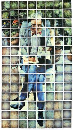 david hockney photo collage   Kasmin Los Angeles 28th March 1982 , 1982 Composite Polaroid 41 3/4 x ...