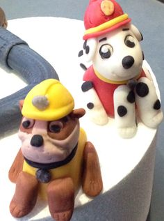 Paw Patrol cake toppers / hondjes/ dogs.