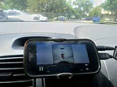 Use a binder clip to make a car stand for your phone. 28 Low-Tech Hacks For Your High-Tech Gadgets