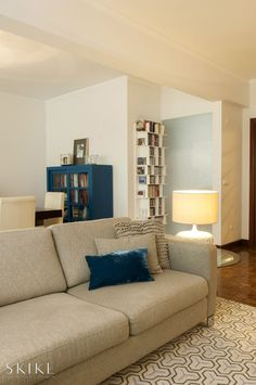 Living room, Olivais Apartment |  Skike Design