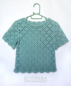 T-Shirt Peppermint Candy pattern by Valentina Oglezneva