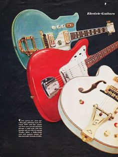 "1966 ELECTRIC GUITARS vintage magazine article ""It's Money Music"" ~ Electric Guitars bring a rash of teen-age combos ... It's Money Music ... * National * Fender * Gretsch * Epiphone * Guild * Kay * ... Cash plus fame for busy belters ... * Livin End * Hansel and the Three Bears * The Catacombs * Moppets * The Freudian Slips * Debutantes * Dino, Desi and Billy * Brian Foley * ~"