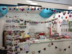 My lovely stall in Oswestry Indoor Market!