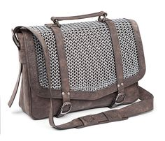A Chain Mail Satchel Fit For A Knight