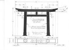 Japanese Gate Plans   Gate design by Karl