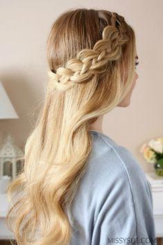 four-strand-headband-braid-tutorial