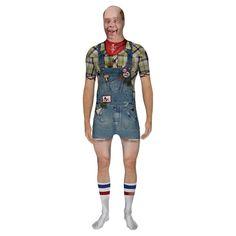 Hill Billy Fulbody Costume, Men's