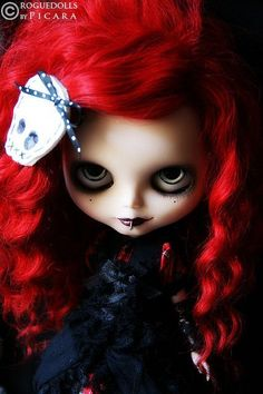 Where were these Goth dolls when I was a kid?