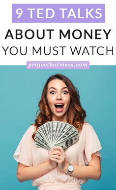 9 TED Talks About Money You Must Watch - Finance tips, saving money, budgeting planner Making A Budget, Making Ideas, Money Tips, Money Saving Tips, Managing Money, Best Ted Talks, Finance Blog, Earn More Money, Saving For Retirement