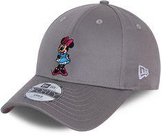 Minnie Mouse New Era 940 Kids Disney Character Grey Baseball Cap (4 - 12 Years) - Youth  ( 6 - 12 years) / Grey