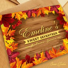 Warm Color Autumn Soire