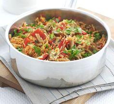 One Pot Mushroom & Rice