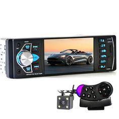 7Inch 2DIN Autoradios MP3 MP5 Player mit Bluetooth Support RüCkfahrkamera USB TF