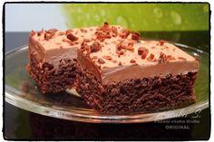 opravdu vyzkoušejte, je to fantastický… Czech Desserts, Sweet Desserts, Sweet Recipes, Dessert Recipes, Kefir Recipes, Cooking Recipes, Czech Recipes, Cooking Light, Something Sweet
