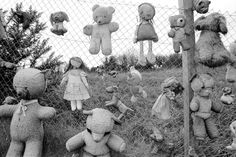 David HURN :: Boundary fence of the refuse transfer site, Penparc, Wales, UK, 1990 Social Photography, Street Photography, University Of Wales, Peter Saville, Documentary Photographers, Monochrome Photography, Magnum Photos, Cover Art, Creepy