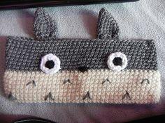 Ravelry: Totoro Pencil Pouch pattern by Katherine Garrett