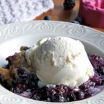 This berry-tastic dish is cinch to throw together when comfort is what you crave.     Used 6-quart slow cooker